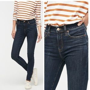 J. Crew High Rise Skinny Jeans